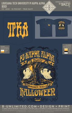 Pi Kappa Alpha Halloween Shirt   Fraternity Event   Greek Event #pikappaalpha #pike #pka #halloween Pi Kappa Alpha, Louisiana Tech, Fraternity, Halloween Shirt, Greek, Shirts, Dress Shirts, Greece, Shirt