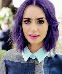 Violet hair                                                                                                                                                                                 More