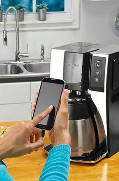 The Mr. Coffee Smart Optimal Brew Coffeemaker.