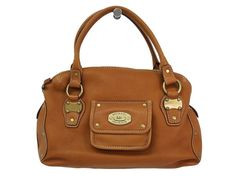 #MICHAELKORS Hand bag Leather Light Brown (BF101885). #eLADY global offers free shipping worldwide. For more pre-owned luxury brand items, visit http://global.elady.com