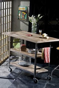 J.Covington*Design: The Shabby - Industrial Look