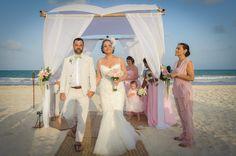 #mermaidweddingdressbeach #birdcageweddingveil #outdoorwedding #beachwedding #groomsuitoutdoorwedding #outdoorgrromstyle #greenbowtie #pinkwedding