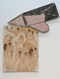 Seth Price Northern Waste with Virus Pattern  2012 Gesso, acrylic, and ink on plywood