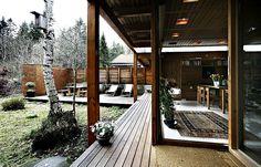 Villa Schreiner by Sverre Fehn, Oslo, Norway, 1963