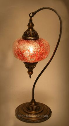 traditional arabesque moroccan ceiling lamp with amber stained ... - Larabesque Lampade