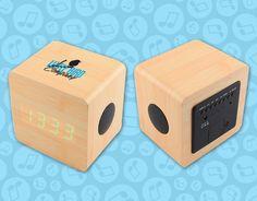 Bamboo Bluetooth Speaker/Alarm Clock