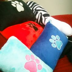 Pet Pillow Custom Personalized Embroidered