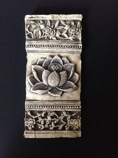 Decorative Relief Tiles Simple Lotus Candle  Ceramics  Pinterest Inspiration Design