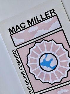 mac miller tattoos Mac Miller Poster // The Divine Feminine Poster // Mac Miller The Divine Feminine Poster Mac Miller Albums, Mac Miller Tattoos, Mac Miller And Ariana Grande, Stencil, Pochette Album, Divine Feminine, Print Artist, Wall Collage, Cool Artwork