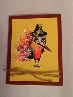 Crazy Bird Turkey/Pilgrim - Scrapbook.com