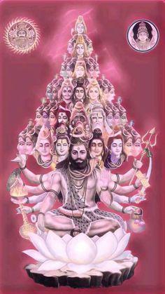 YagyaAnusdhan👉🕉shree Mahakali MahaLaxmi MahaSarswati And Shree Lord shiva as vishvarup or viratrup Arte Shiva, Mahakal Shiva, Shiva Statue, Shiva Art, Hindu Art, Krishna, Hanuman Chalisa, Lord Shiva Hd Images, Shiva Lord Wallpapers