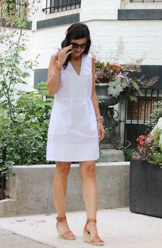 White Sleeveless Dress @cobaltchronicle