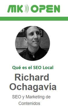 @richardochagavia nos explica qué es el SEO Local en el Congreso MKOpen de Sevilla los días 26 y 27 de mayo. Descubre el programa completo. #aenoadigital #marketingdigital #posicionamientoweb #seo #sem #redessociales http://www.aenoa.com/mk-open/cth_speaker/richard-ochagavia/