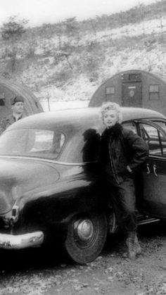 Marilyn in Korea; 1954