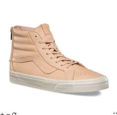 fb0c5199d9 Vans Veggie Tan Leather SK8-Hi Reissue Zip DX Hi-Top Sneaker US Men