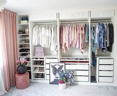 You can build a walk-in closet yourself that easily and cheaply - Home Modelb Bedroom Closet Design, Wardrobe Design, Closet Designs, Bedroom Decor, Bedroom Designs, Home Office Design, Office Decor, Lounge Decor, My Room