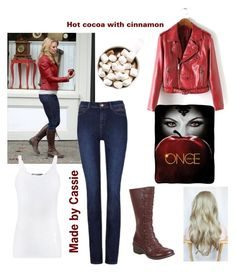 """Once upon a time Emma Swan"" by cassieq6929 on Polyvore featuring Once Upon a Time, Vince and Miz Mooz"