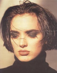 """80s-madonna: """" """"Winona Ryder photographed by Matthew Rolston, 1990 """" """""""