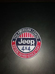 (lot of 10) Jeep Embroidered Patch Sew Iron On Applique Motor Sports 4x4 New 2893670175b