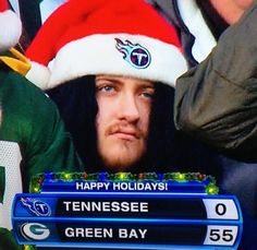 Twas a bad day for Titans and Pirates. Packers are looking amazing heading into January. Ssssshhhhhh.