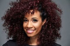 took a leap with her hair color and it is beyond fabulous. She went with Intensive Red & Burgandy Blaze from the Argan line. Swipe to see her before. Coiling Natural Hair, Natural Hair Twists, Undercut Hairstyles, Twist Hairstyles, Black Hairstyles, Short Natural Haircuts, Natural Hairstyles, Damp Hair Styles, Curly Hair Styles