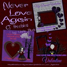 Never Love Again kit & freebies at http://ditzbitz.weebly.com/store/p464/Never_Love_Again.html. Join Ditz Bitz Freebies Group to get 38% off when you purchase the kit. https://facebook.com/groups/ditzbitzfreebies/