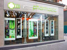 """PROGETTO La Pharmacie Frydman si trova nella cosiddetta """"piccola corona"""" dell'Île-De-France. OBIETTIVO Creare uno spazio di puro benessere per gli utenti,"""