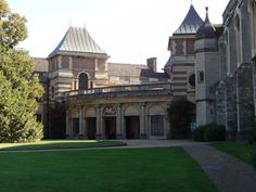 Eltham Palace, London, England. A unique Art Deco mansion in a medieval setting. Built for millionaires, reflects the glamour and allure of 1930s fashionable society. Stunning interiors and furnishings reflect a masterpiece of design, and combine the cutting edge designs of ocean-liner style, with French influence Art Deco. The mansion's backdrop is a medieval royal palace from Tudor times, with magnificent Great Hall, the childhood home of Henry VIII.