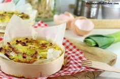Quiche sans Pâte Poireaux, Lardons & Camembert - Brian Iz In The Kitchen Quiche Camembert, Entrees, Mashed Potatoes, Easy Meals, Easy Recipes, Food And Drink, Gluten, Cooking, Healthy