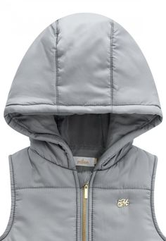 jaqueta estampa caveiras cinza com capuz
