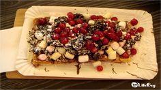 La gaufre Johanisbeeren, Mini Maschmallows, Oreos & Nutella