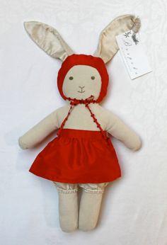 A Velveteen Bunny by BespokebyEL on Etsy, $148.00