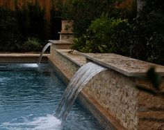 Pool Water Feature Ideas diy saturday 6 outdoor water features Start A Design File Your Swimming Pool And Landscape Ideas Now Pinterest Design Files Swimming And Pool Water