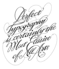 Perfect Typography by María Montes