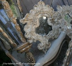 cartapesta mirror by Elise Valdorcia