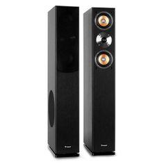 Auna Linie-500-BK Hifi Standboxen Wohnzimmer: Amazon.de: Elektronik