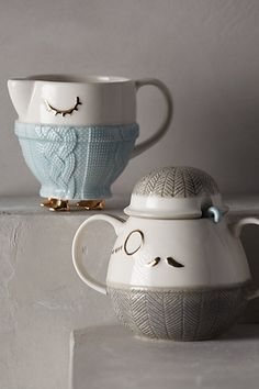 Cozy Carolers Sugar & Creamer - anthropologie.com