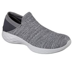 best website f086a f7922 You deserve comfort, style and supreme flexibility with the YOU by Skechers  shoe. Soft woven mesh fabric and super flexible knit fabric upper in a slip  on ...