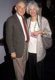 """Bill Macy and Bea Arthur of """"Maude"""" Rue Mcclanahan, Dorothy Zbornak, Estelle Getty, Bea Arthur, Rosemary's Baby, Betty White, Penny Dreadful, Red Carpet Event"""