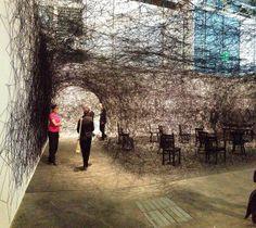 Cobwebbed: eerie installation art by Chiharu Shiota