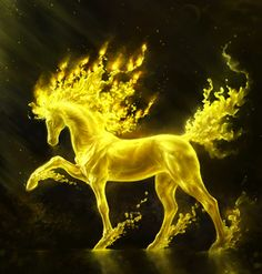 Spiritual Fantasy Artwork HD Wallpapers By Liiga Smilshkalne Magical Creatures, Fantasy Creatures, Beautiful Creatures, Fire Horse, Top Imagem, Unicorn Art, Fantasy Kunst, Mythological Creatures, Horse Pictures