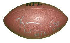 "Kendall Wright Autographed NFL Wilson Composite Football w/ Inscription, Proof Photo. Kendall Wright Signed NFL Football w/ ""Go Titans"" Inscription! Tennessee Titans, Baylor Bears, Proof  This is a brand-new Kendall Wright autographed NFL Wilson composite football featuring ""Go Titans"" inscription!  Kendall signed the football in silver paint pen. Check out the photo of Kendall signing for us. ** Proof photo is included for free with purchase. Please click on images to enlarge. Please browse…"