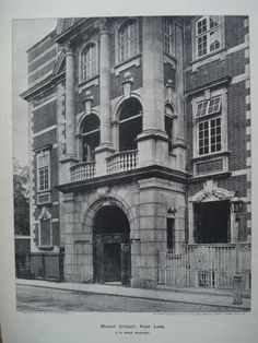 Mount Street, Park Land , London, England, UK, 1898, F.B. Wade