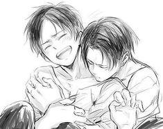 I love when levi makes you smile so eren.