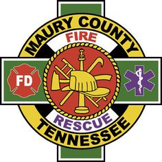 Maury County Fire Department Logo