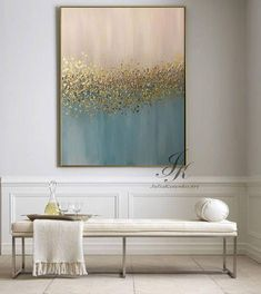 Abstract Oil Painting Texture Painting Gold Painting Gold Leaf If you need a different size, let me know. I will perform for you to order. DETAILS * Name: Abstract * Painter: Julia Kotenko * Size: 31 x 39 (80x 100 cm) * Original handmade oil painting on canvas, texture,gold leaf * #OilPainting