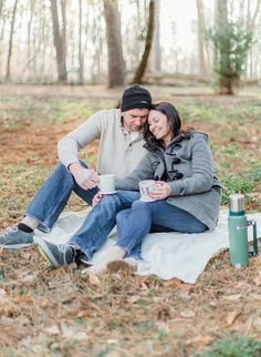Cute and Cozy Winter Engagement Session in Columbus, Ohio! -The Jacksons | Fine Art Wedding Photography