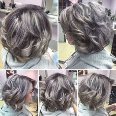 before and after haircuts lowlights and highlights to soften the transition to grey 9868 | 1340aa2f0d99a9868bfffd9a33932ef9 trendy hairstyles gorgeous hairstyles