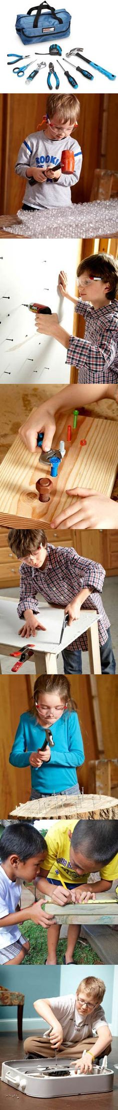 get kids excited about DIY