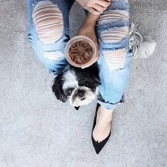 What's your pet's name? Comment below. #coffeenclothes #☕️ @thatsotee